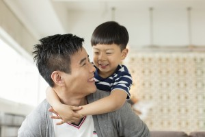 asian dad and son copy